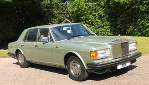 1981 ROLLS ROCYE SILVER SPIRIT Very low miles only 2 owners For Sale