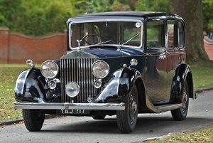 1937 Rolls-royce 25/30 Six Light Limousine Coachwork by Ripp For Sale