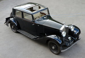 1932  20/25 Hooper Sports Saloon GAU15