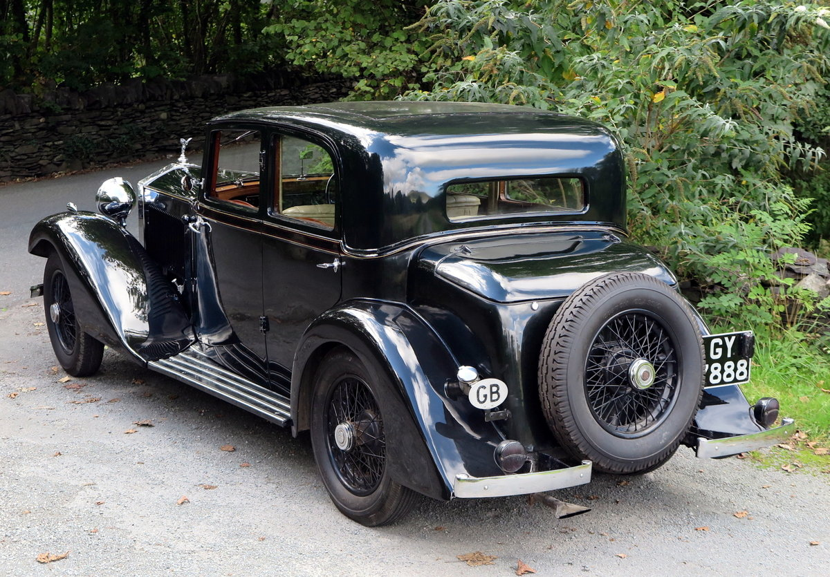 1932  20/25 Hooper Sports Saloon GAU15 For Sale (picture 2 of 6)