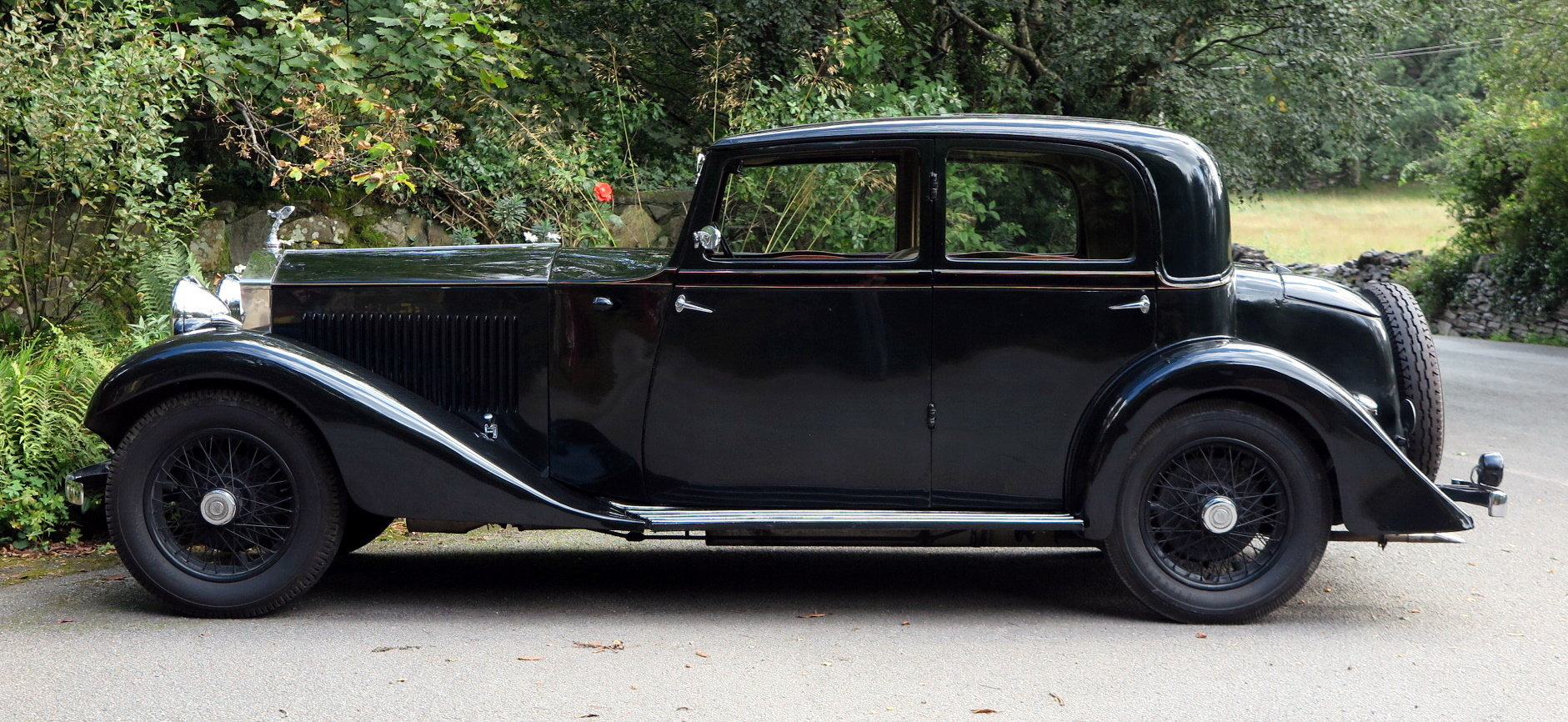 1932  20/25 Hooper Sports Saloon GAU15 For Sale (picture 3 of 6)
