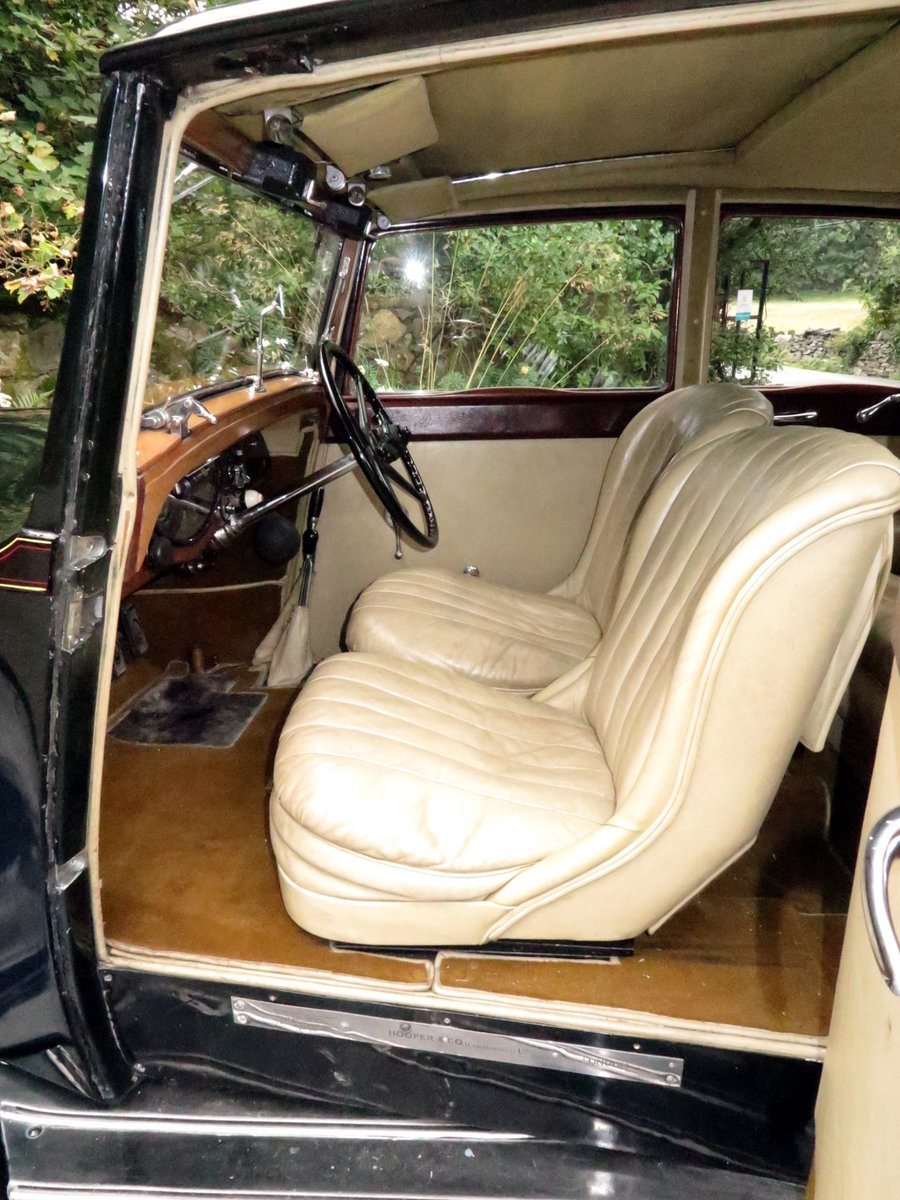 1932  20/25 Hooper Sports Saloon GAU15 For Sale (picture 5 of 6)