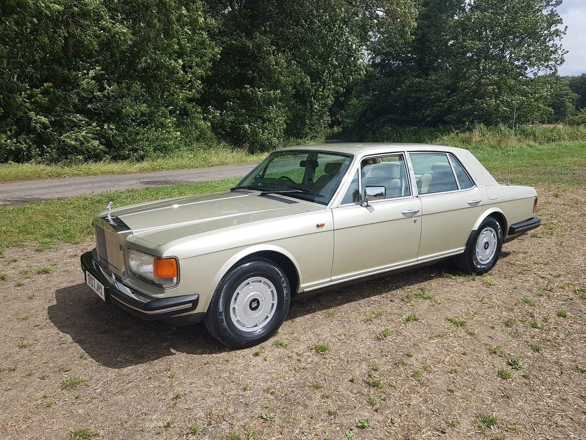 1986 Rolls Royce Silver spirit 4 Door Saloon For Sale (picture 1 of 6)