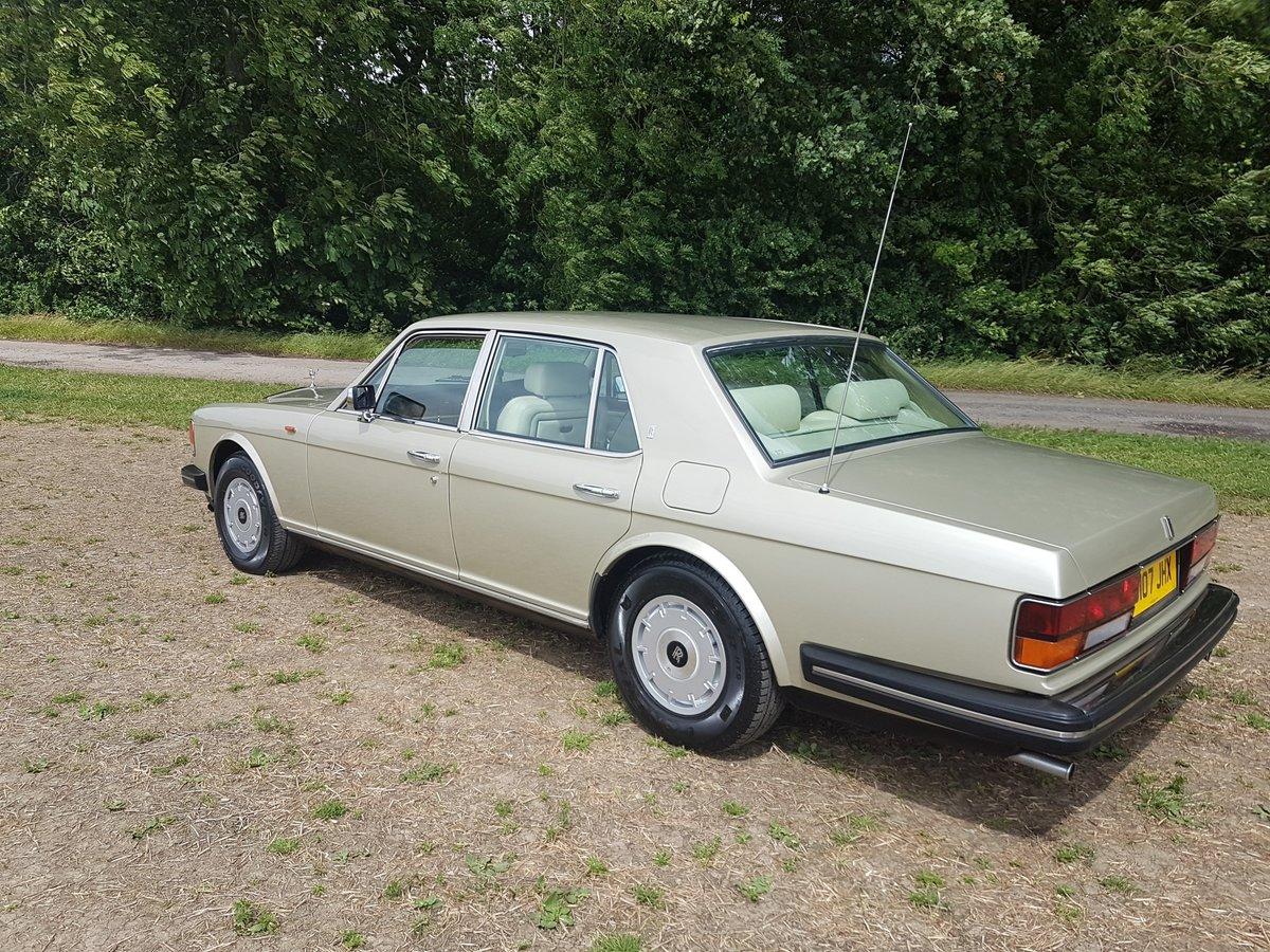 1986 Rolls Royce Silver spirit 4 Door Saloon For Sale (picture 5 of 6)
