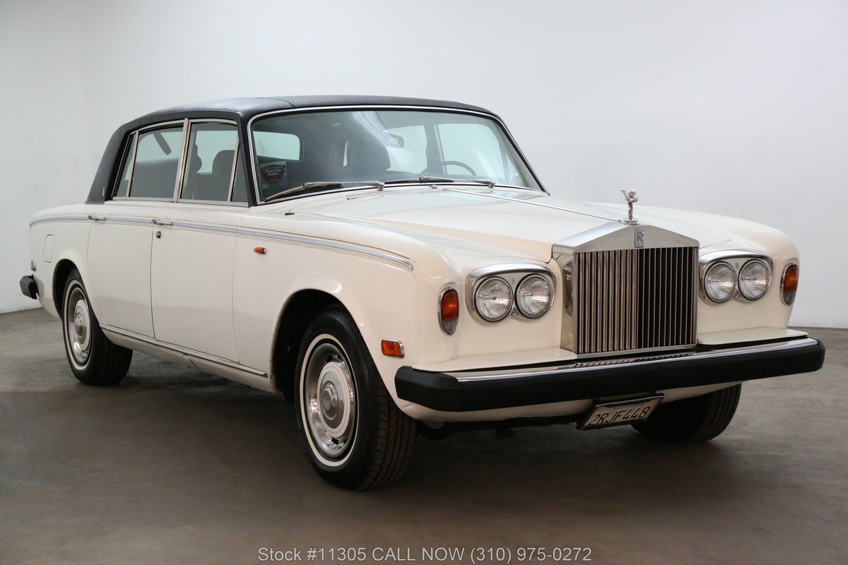 1976 Rolls Royce Silver Shadow Left-Hand Drive For Sale (picture 1 of 6)