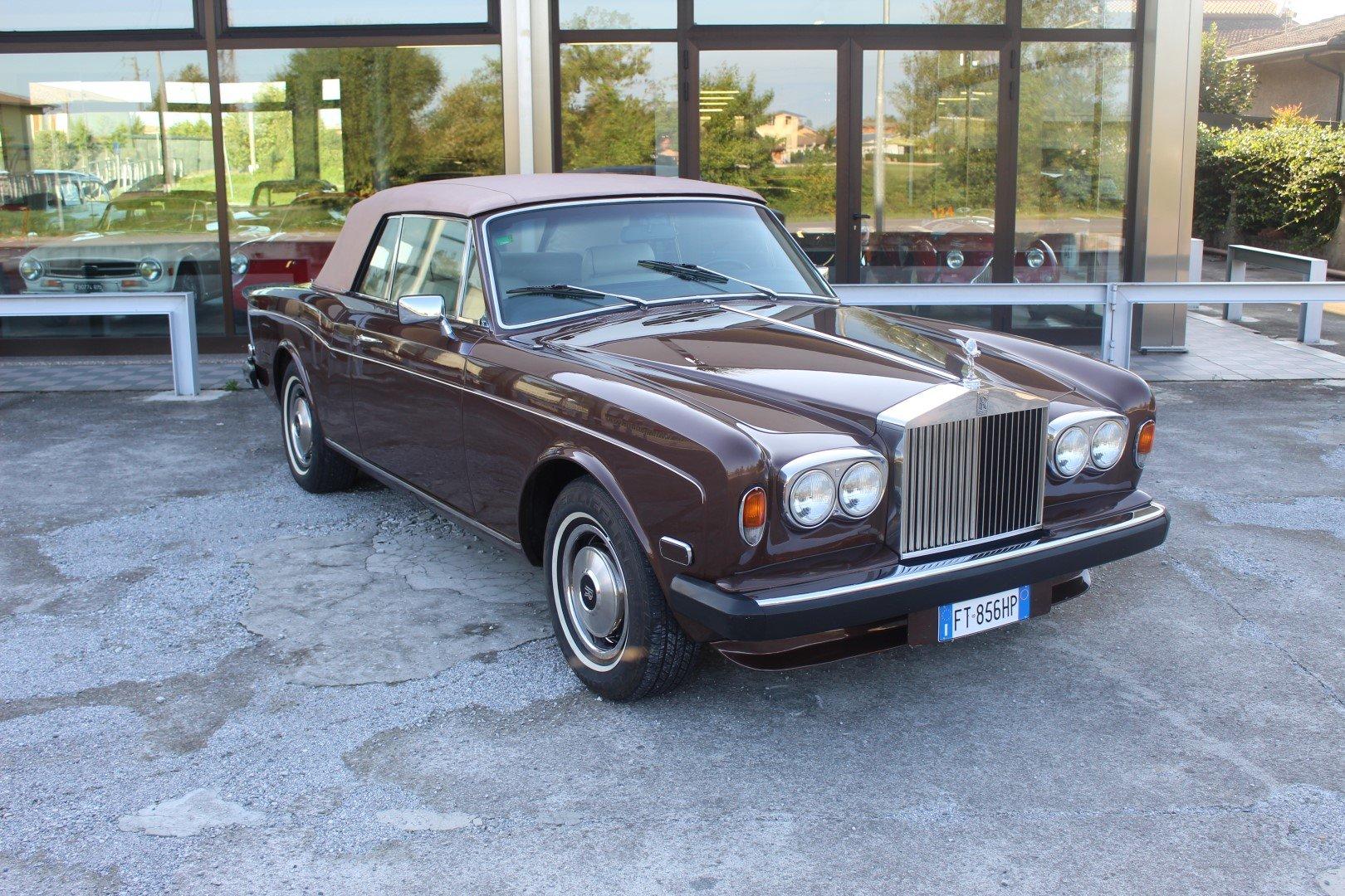 1977 Rolls royce corniche ii convertible lhd european For Sale (picture 1 of 6)