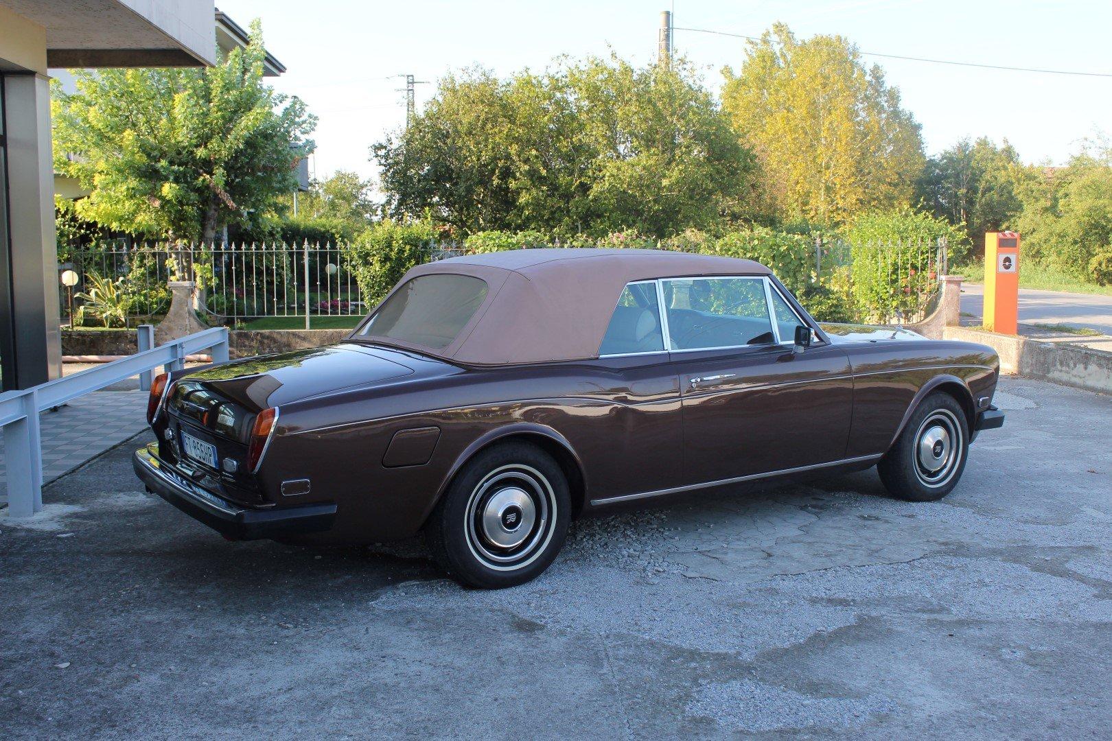 1977 Rolls royce corniche ii convertible lhd european For Sale (picture 3 of 6)