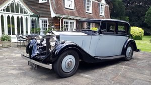 Rolls-Royce 25/30 H.J. Mulliner Sports Saloon 1936 Concours For Sale