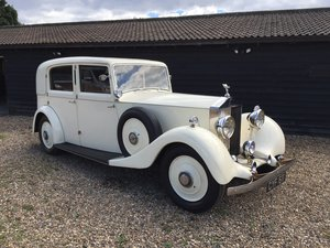 1936 Rolls Royce 25/30 Park Ward Limousine For Sale
