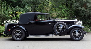 1937 Rolls-Royce 25/30 3 Position Drophead Coupe GRM39 For Sale