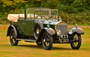 1923 Maharajah of Gwalior Rolls Royce 20hp Barker  For Sale