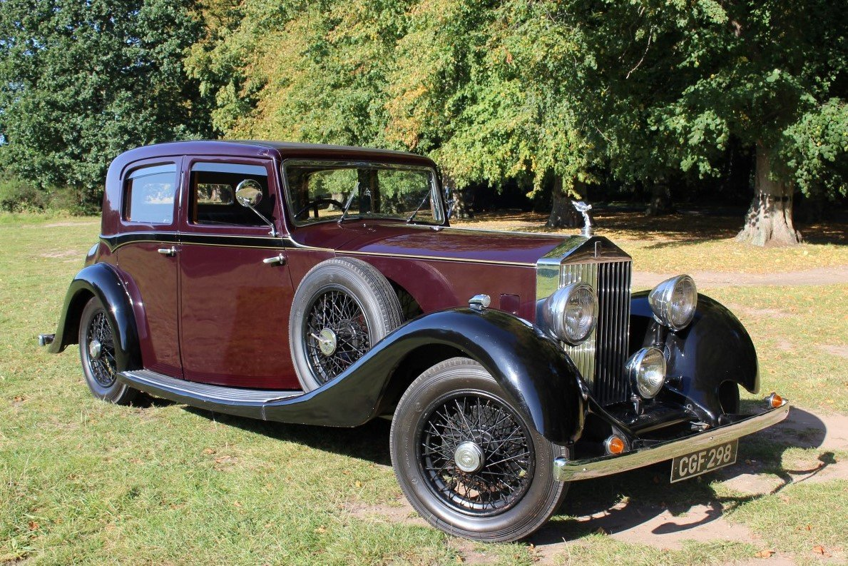 Rolls-Royce 20/25 Hooper Sports Saloon 1935 Thousands Spent For Sale (picture 1 of 6)