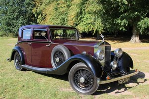 Rolls-Royce 20/25 Hooper Sports Saloon 1935 Thousands Spent