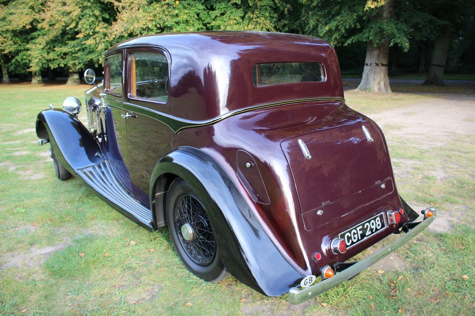 Rolls-Royce 20/25 Hooper Sports Saloon 1935 Thousands Spent For Sale (picture 2 of 6)