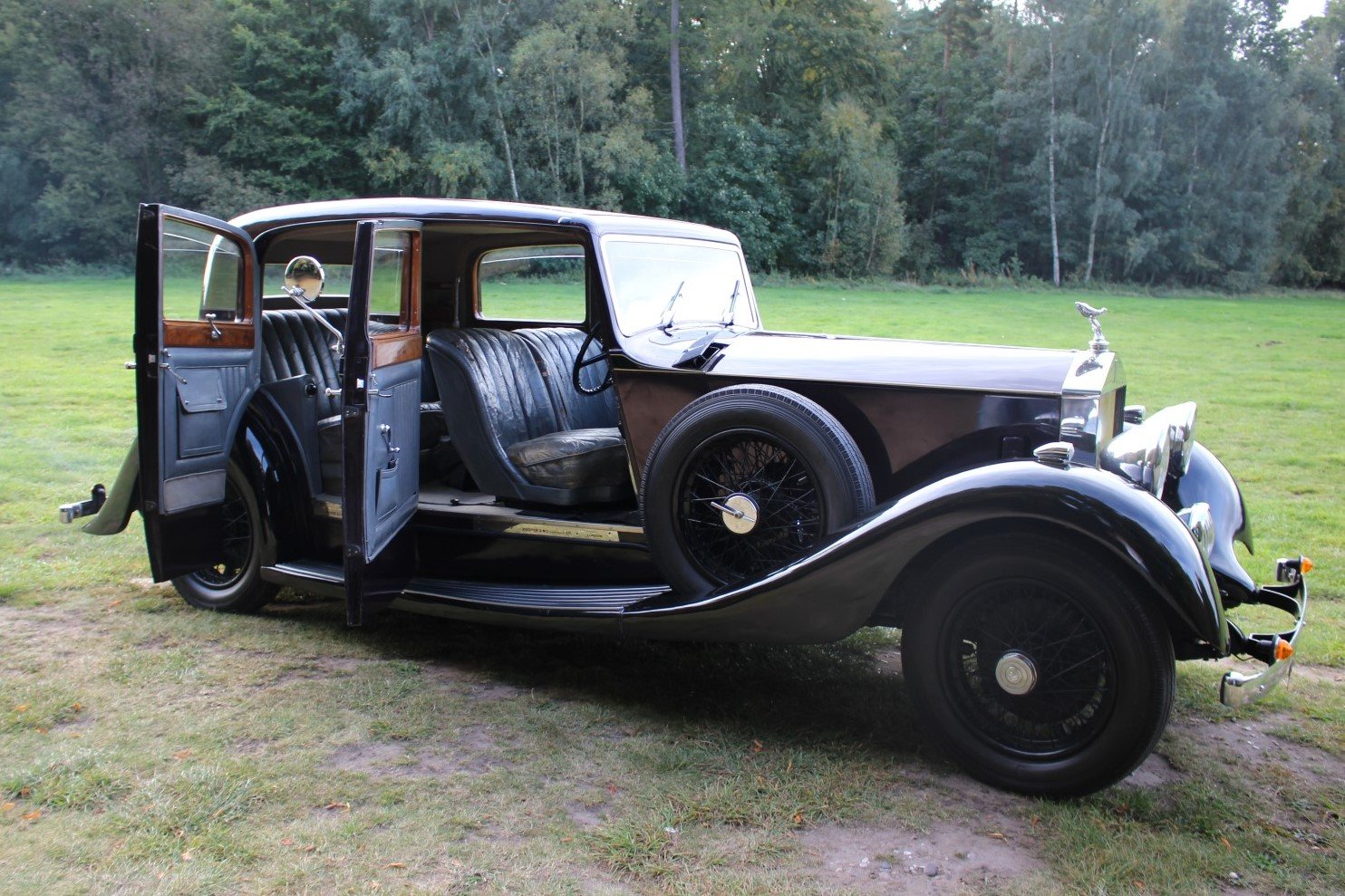 Rolls-Royce 20/25 Hooper Sports Saloon 1935 Thousands Spent For Sale (picture 6 of 6)