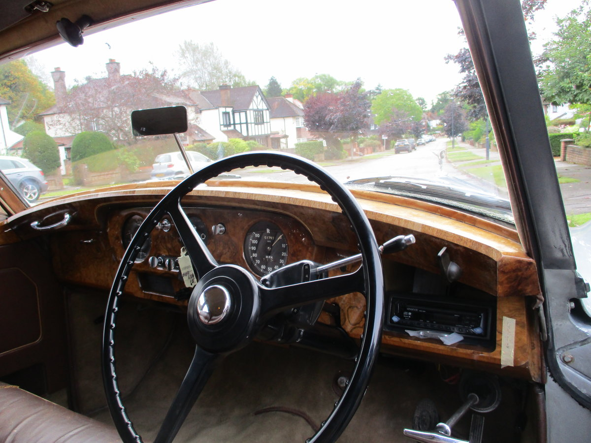 ROLLS ROYCE SILVER CLOUD 1 1958  Auto/PAS STUNNING For Sale (picture 22 of 24)