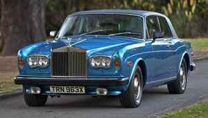 1982 Rolls-Royce Corniche 5000 Series FHC LHD For Sale