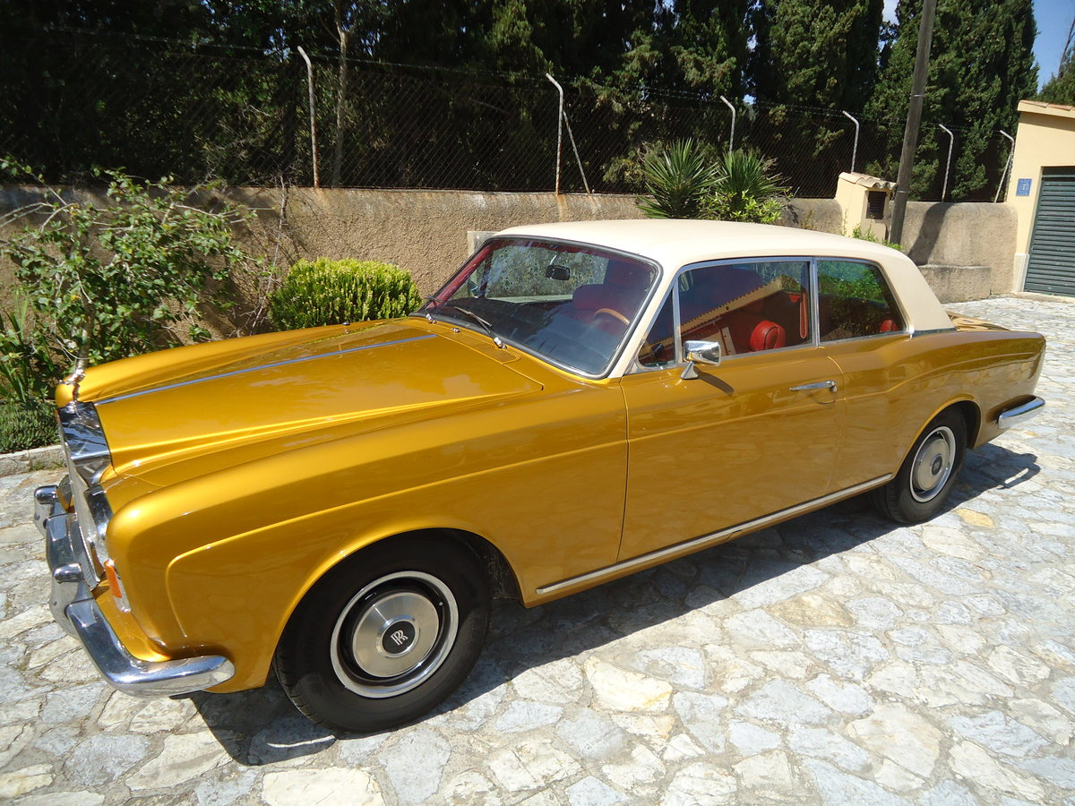 1970 Rolls Royce Corniche Coupe ldh For Sale (picture 1 of 6)