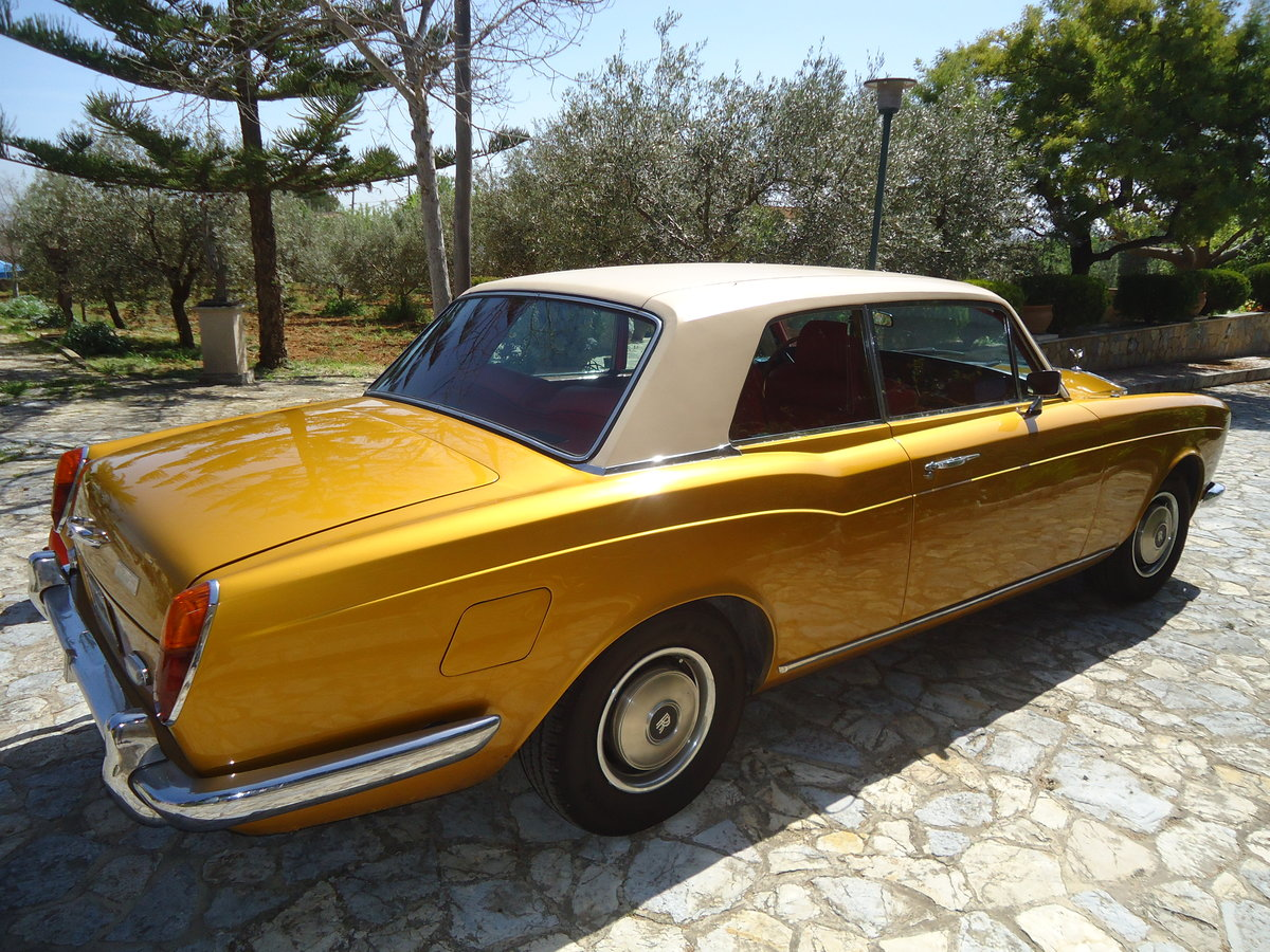 1970 Rolls Royce Corniche Coupe ldh For Sale (picture 2 of 6)