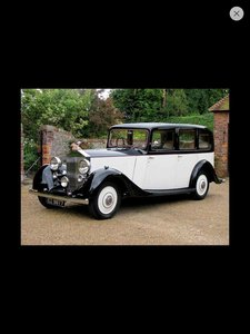 1938 Rolls Royce Limousine Hooper & Co 25/30 For Sale