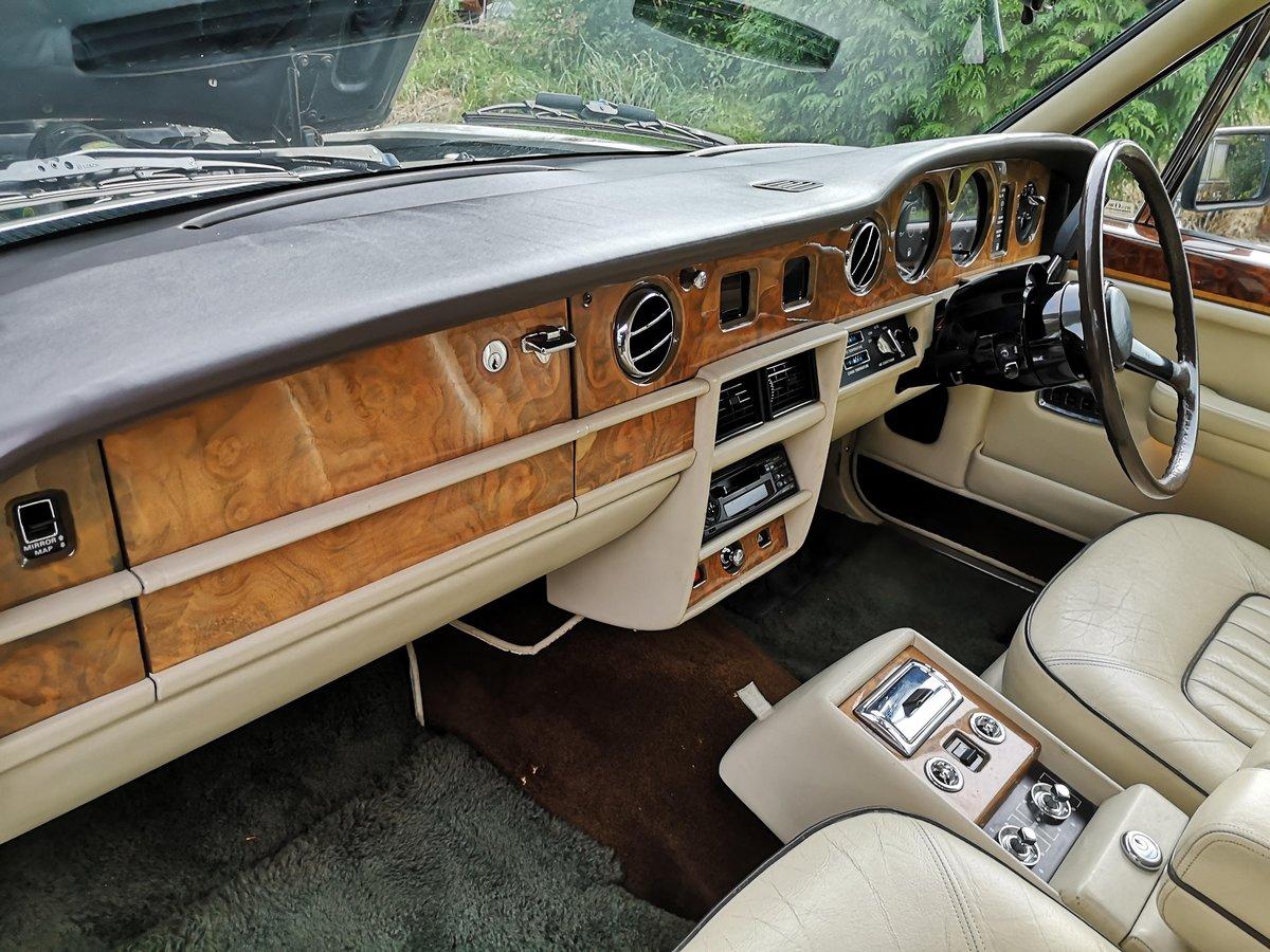 1986 Rolls Royce Silver spirit 4 Door Saloon For Sale (picture 3 of 6)