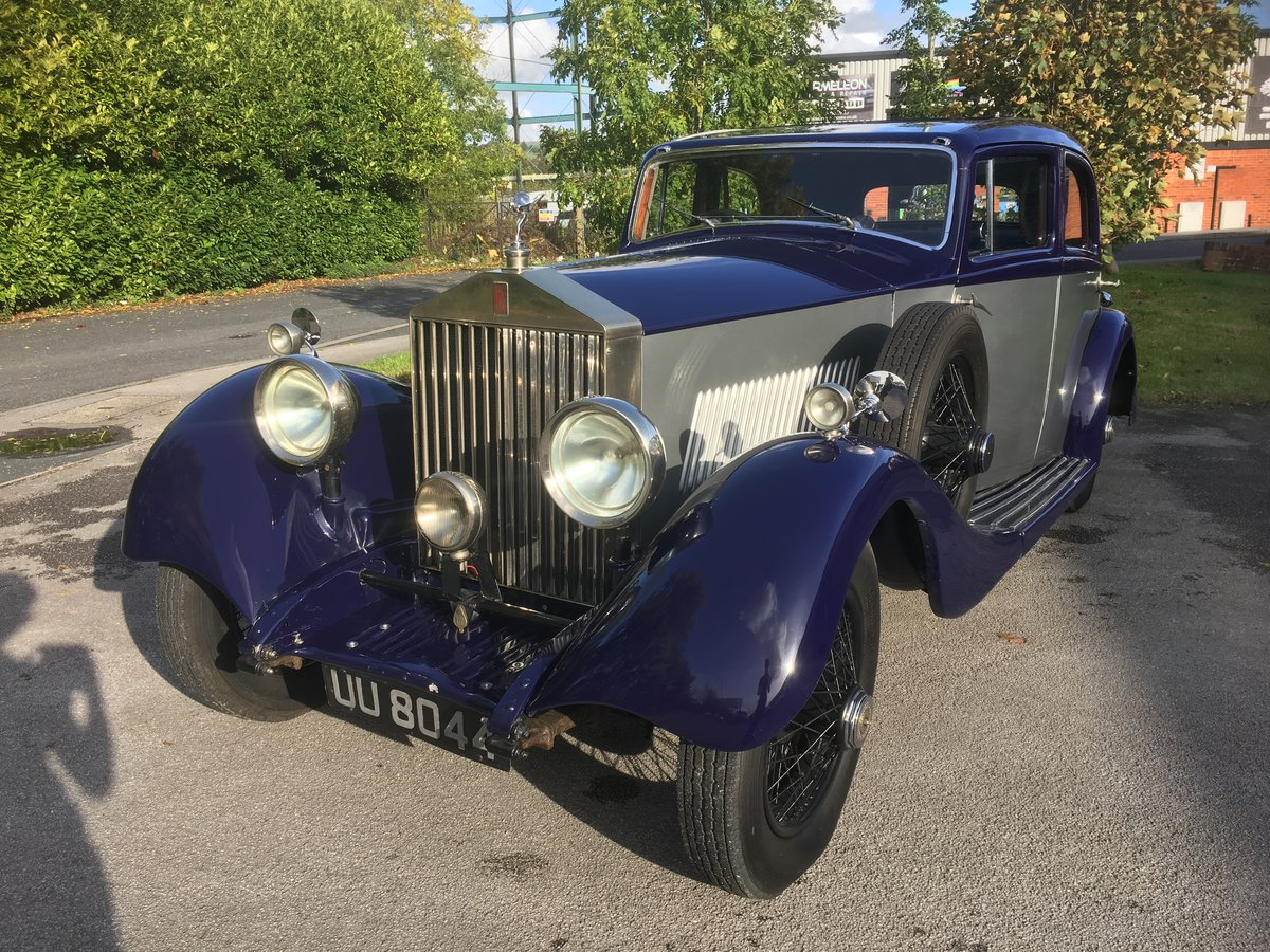 1929 Rolls-Royce 20Hp Parkward Sports Saloon For Sale (picture 1 of 6)