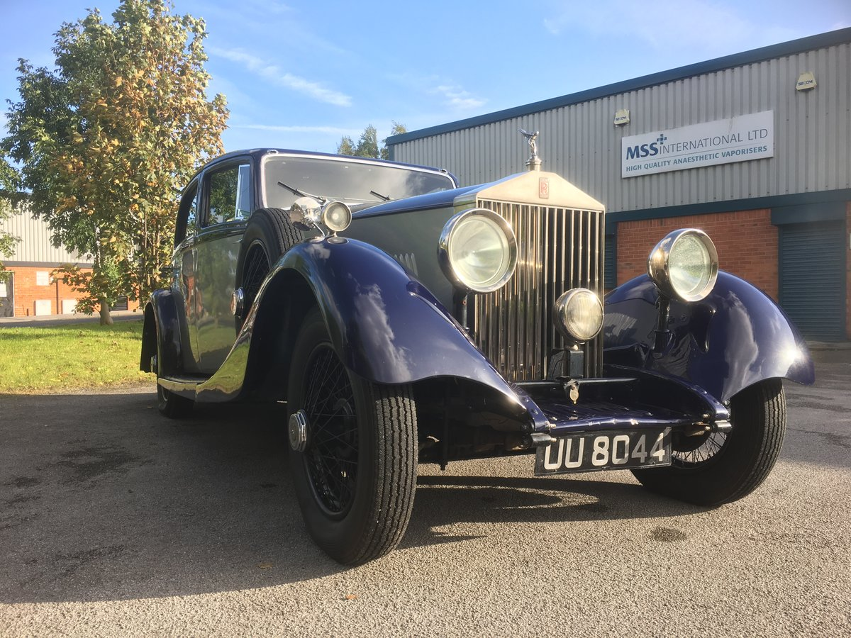 1929 Rolls-Royce 20Hp Parkward Sports Saloon For Sale (picture 2 of 6)