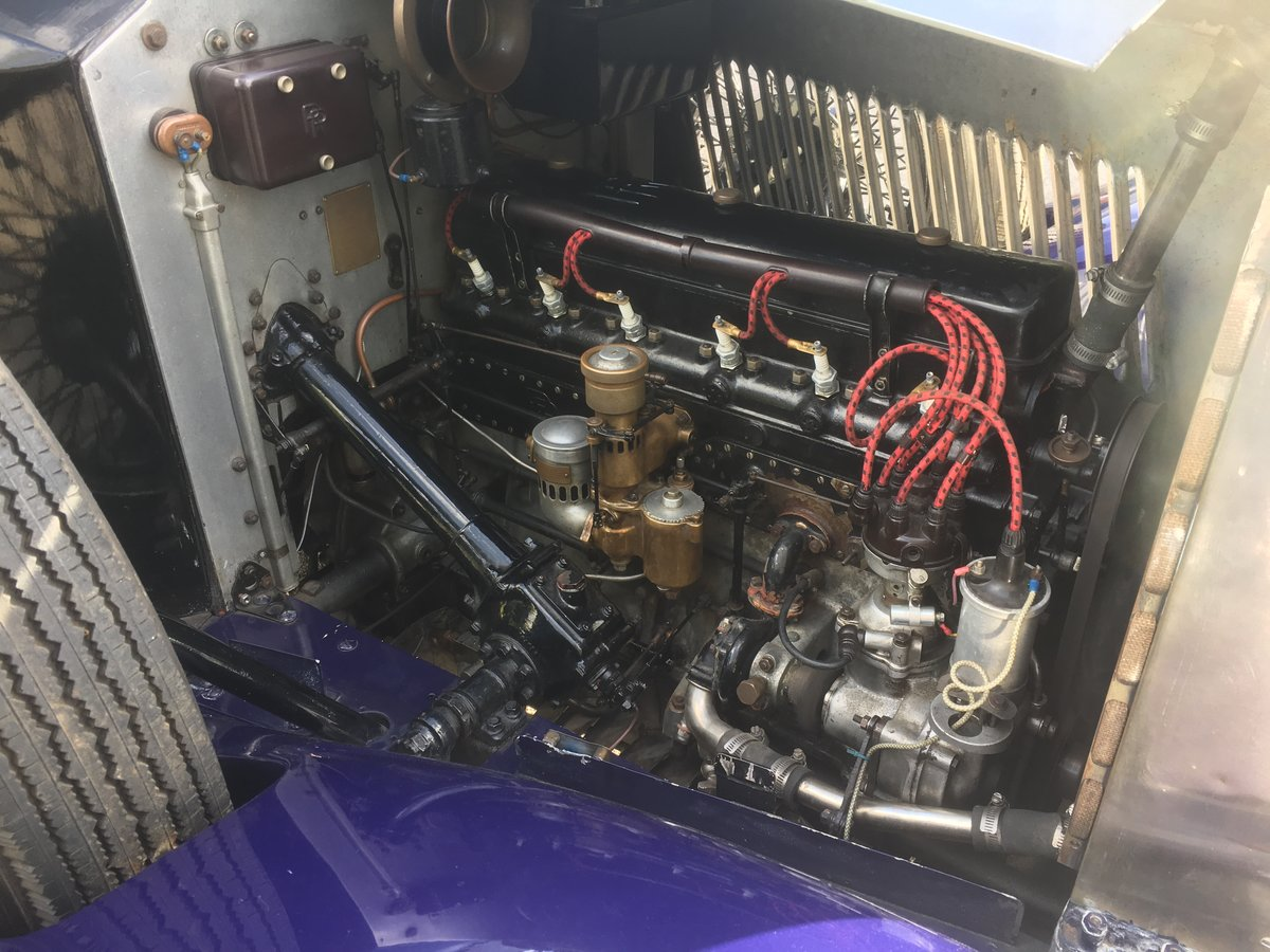 1929 Rolls-Royce 20Hp Parkward Sports Saloon For Sale (picture 6 of 6)