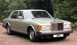 1981 ROLLS ROCYE SILVER SPIRIT Very low miles only 2 owners