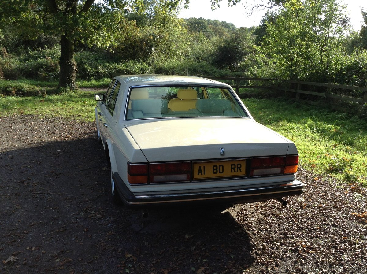 1983 Rolls Royce Silver Spirit Low Mileage For Sale (picture 4 of 6)