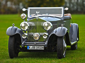 1932 Rolls-Royce Phantom II Continental Drophead Coupe by Ca