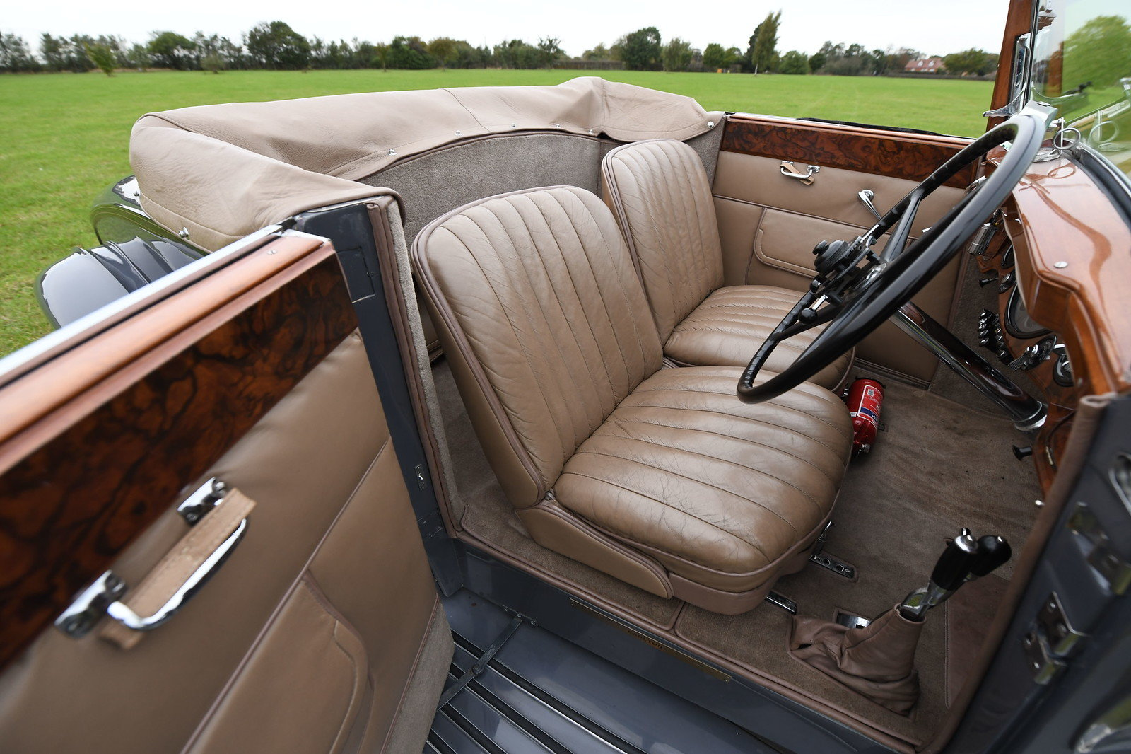 1932 Rolls-Royce Phantom II Continental Drophead Coupe by Ca For Sale (picture 5 of 6)