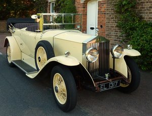 Rolls-Royce 20/25 Barrel Sided Tourer 1934 Concours Rebuild For Sale