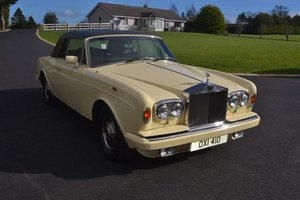 1985 Rolls-Royce Corniche Convertible RHD For Sale