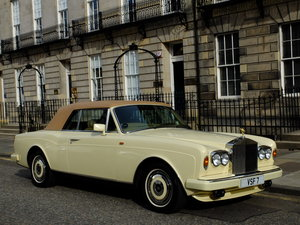 1988 ROLLS CORNICHE CONVERTIBLE - JUST 36K MILES - SHOWSTOPPER ! For Sale