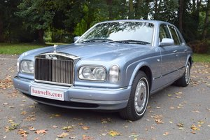 1999/T Rolls Royce Silver Seraph in Fountain Blue
