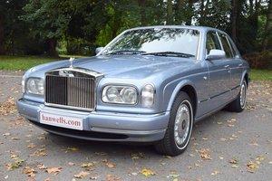 1999/T Rolls Royce Silver Seraph in Fountain Blue For Sale