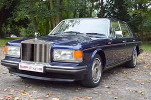1994 M Rolls Royce Silver Spirit Series III in Peacock Blue For Sale