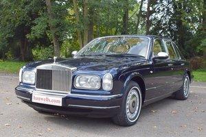 1998 R Rolls Royce Silver Seraph in Peacock Blue For Sale