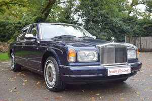 1998 S Rolls Royce Silver Seraph in Peacock Blue