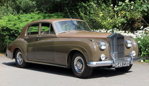 1961 Rolls-Royce Silver Cloud II Four Door Saloon SZD241