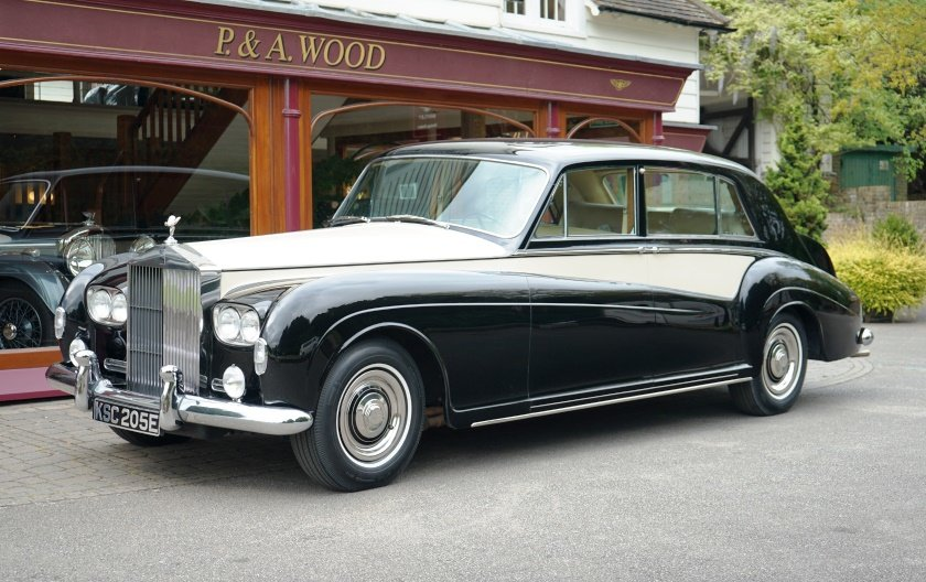 Rolls-Royce Phantom V 1966 LHD PV23 Limousine by James Young For Sale (picture 1 of 6)