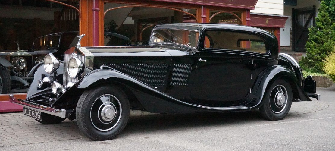 Rolls-Royce Phantom II Continental 1933 Coupe by G.Nutting For Sale (picture 1 of 3)