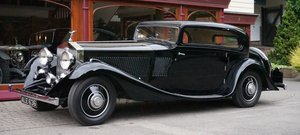 Rolls-Royce Phantom II Continental 1933 Coupe by G.Nutting For Sale