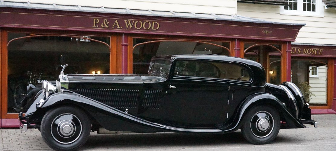 Rolls-Royce Phantom II Continental 1933 Coupe by G.Nutting For Sale (picture 2 of 3)