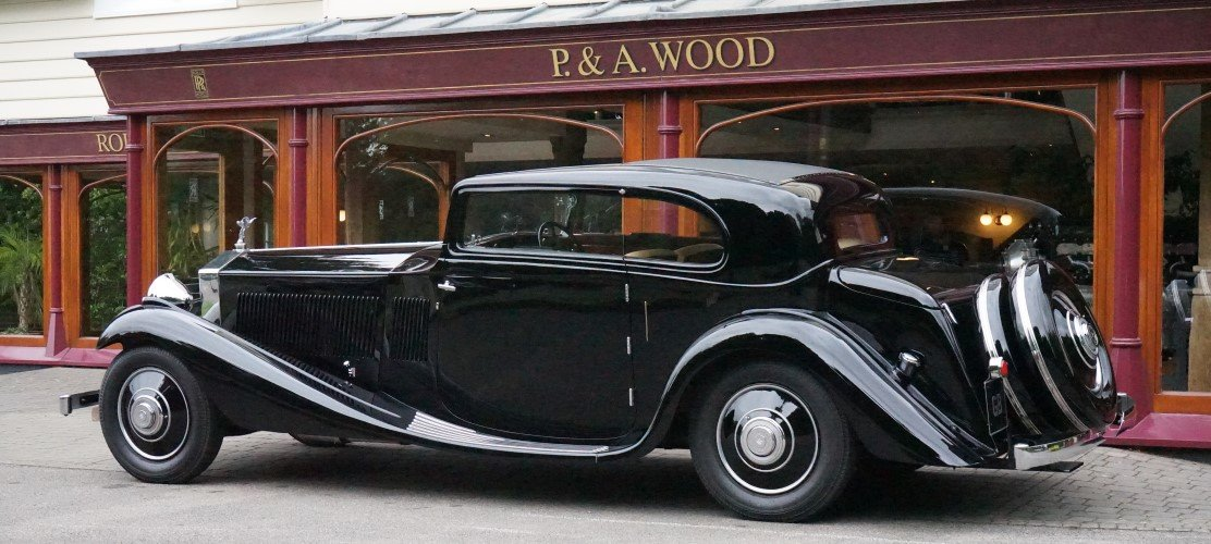 Rolls-Royce Phantom II Continental 1933 Coupe by G.Nutting For Sale (picture 3 of 3)