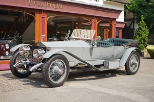 Rolls-Royce Silver Ghost 1911 London to Edinburgh
