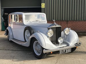 1936 ROLLS ROYCE 20/25 built by Thrupp and Maberly LTD For Sale