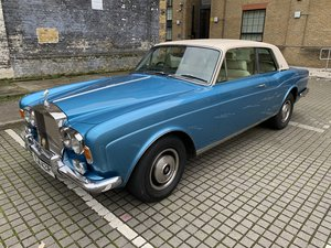 1976 Rolls Royce Corniche series 1A 1977 Motor show car 28500 mil For Sale