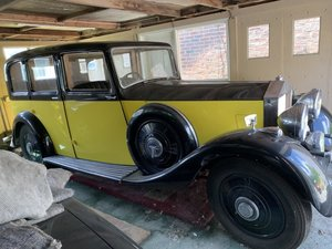 1937 Rolls-Royce 25/30 Hooper Limousine For Sale by Auction